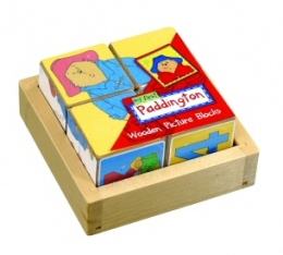 Paddington Bear Wooden Picture Blocks