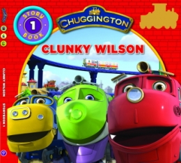 Story Book with Stickers No1 - Clunky Wilson