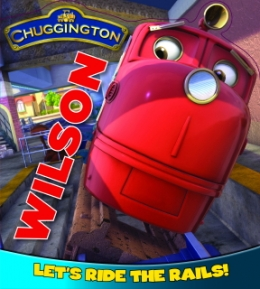 Board Book No1 - Wilson Let's Ride The Rails