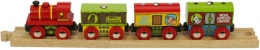 Bigjigs Wooden Railway - Farm Train