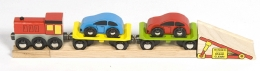 Bigjigs Wooden Railway - Car Loader