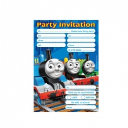 Thomas The Tank Party Invites 2012