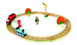 Wooden Railway - Thomas & James Set