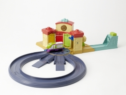 Chuggington - Diecast Launch N Go Roundhouse Playset