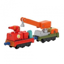 Chuggington - Diecast Calley's Fire & Rescue Cars