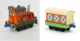 Chuggington - Diecast Calley with Boxcar