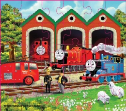 Thomas The Tank - 30 Piece Wooden Jigsaw Puzzle