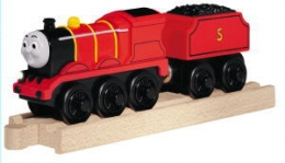 Wooden Railway Battery James