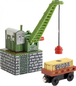 Wooden Railway - Colin The Crane
