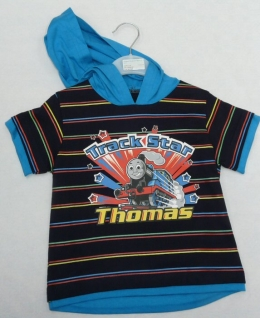 Thomas The Tank - Hooded T Shirt