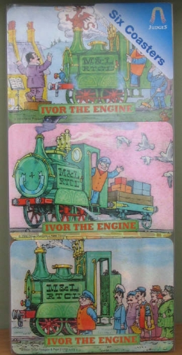 Ivor The Engine Drinks Coasters