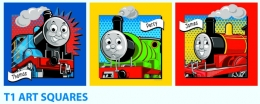 Thomas The Tank - T1 Art Squares
