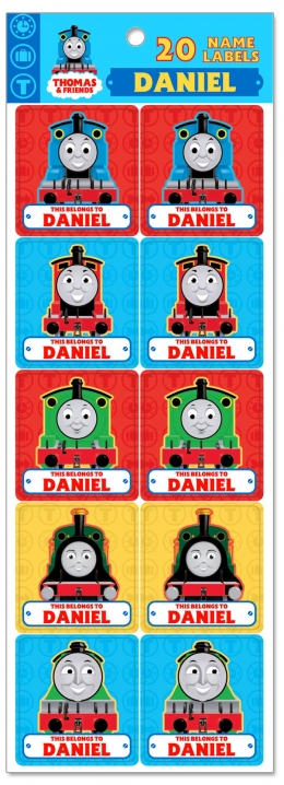 Personalised Thomas Name Label L - W