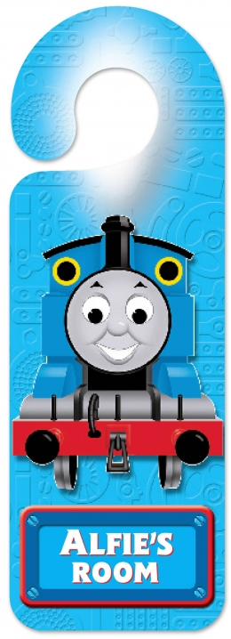 Personalised Thomas Door Hanger  A - G