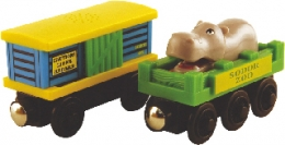 Thomas The tank Wooden Railway - Zoo Cars