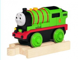 Wooden Railway Battery Percy