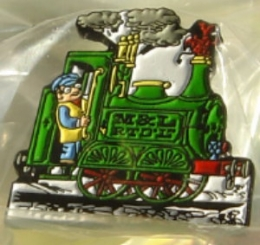 Ivor The Engine Enamel Badge