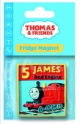 Thomas The Tank Fridge Magnet - James