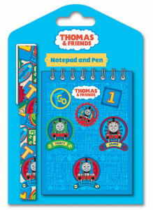Thomas The Tank - Note Pad and Pen