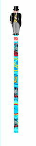 Thomas The Tank Pencil with Fat Controller Topper