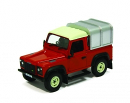 Britains 42732: Land Rover Defender 110 Canopy (Red)