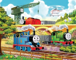 Thomas The Tank - 56 Piece Wooden Jigsaw