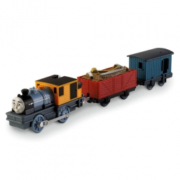 Mattel Trackmaster - Bash the Logging Loco