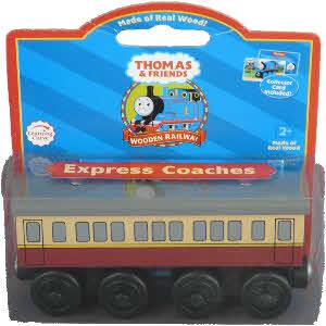 Wooden Railway - Express Coaches Wagons